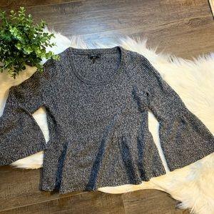 Express peplum sweater